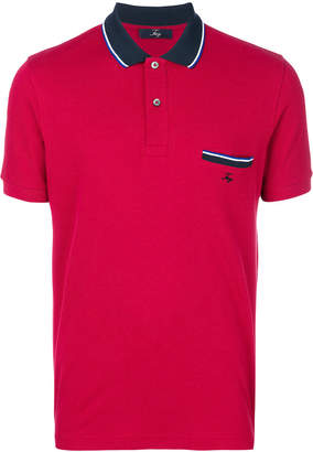 Fay chest pocket polo