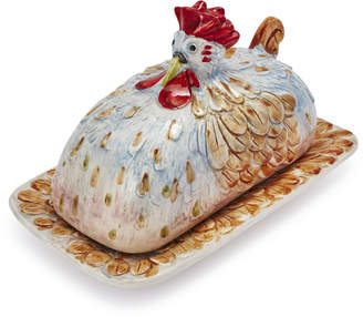 Sur La Table Jacques Pepin Collection Chicken Butter Dish