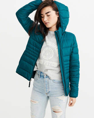 Abercrombie & Fitch Lightweight Puffer Jacket