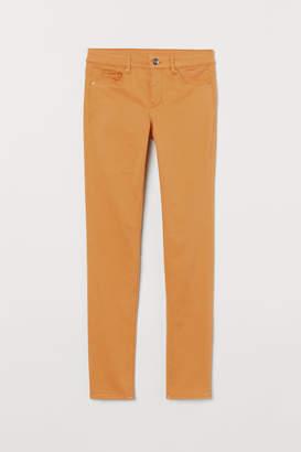 H&M Super Skinny Regular Jeans - Yellow