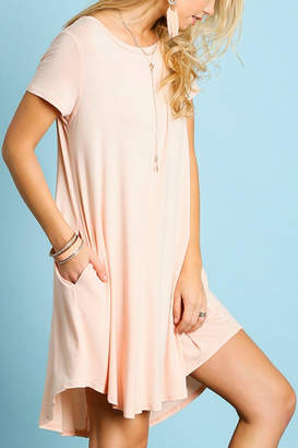 Umgee USA Perfect T-Shirt Dress
