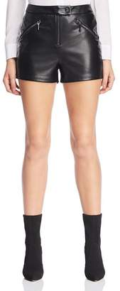 GUESS Maxie Faux Leather Shorts
