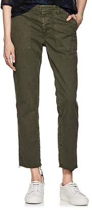 Nili Lotan Women's Jenna Cotton Twill Crop Pants