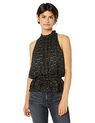 Ramy Brook Women's Bobbi Patterned Sleeveless Blouse