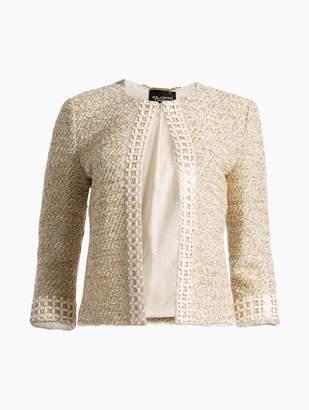 St. John Gilded Eyelash Knit Jacket