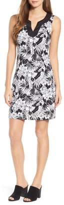 Tommy Bahama Palm Noir Sleeveless Tunic Dress