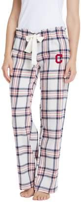 Women's Cleveland Indians Bid Flannel Pant