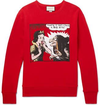 Gucci Oversized Printed Loopback Cotton-Jersey Sweatshirt