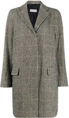 Alberto Biani single-breasted check coat