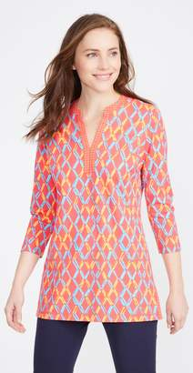 J.Mclaughlin Boca Tunic in Fair Lattice Geo