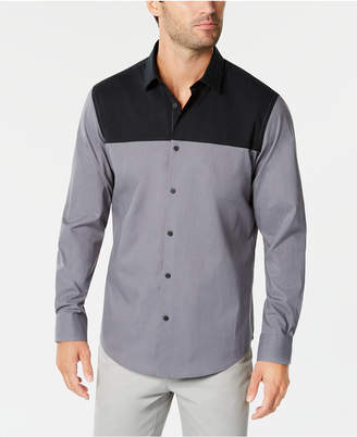 Alfani Men Colorblocked Shirt