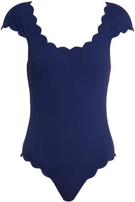 Marysia Swim Mexico Maillot scallop-edged swimsuit
