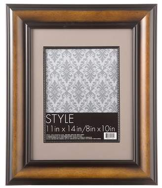 Charlton Home Nick Beaded Wood Double Matted Picture Frame