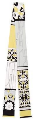 Emilio Pucci Printed Knit Stole