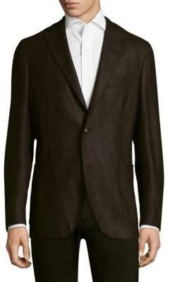 Boglioli Boucle Buttoned Sportcoat