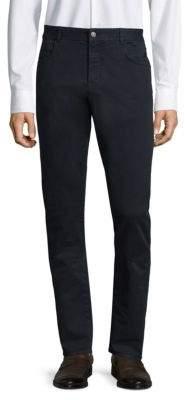 Boglioli Five-Pocket Slim-Fit Pants