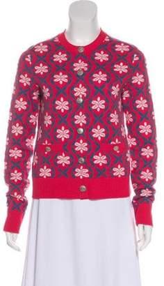 Chanel 2017 Cashmere Cardigan Pink 2017 Cashmere Cardigan