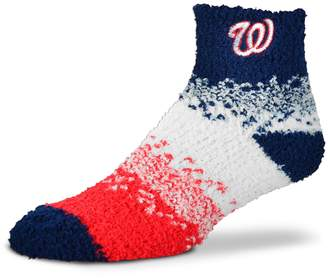For Bare Feet Women's Washington Nationals Marquee Sleep Socks