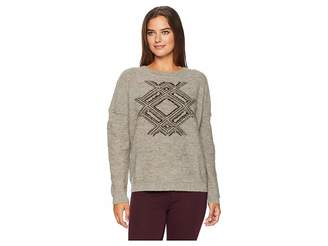Pendleton Fringed Pullover Sweater