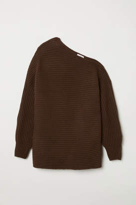 H&M Rib-knit Sweater - Brown