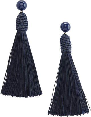 Vineyard Vines Single Tassel Earrings