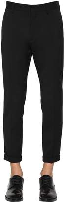 DSQUARED2 Admiral Wool Blend Cady Pants