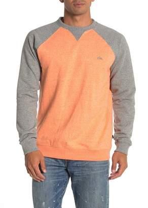 Quiksilver Everyday Colorblock Fleece Pullover Sweatshirt