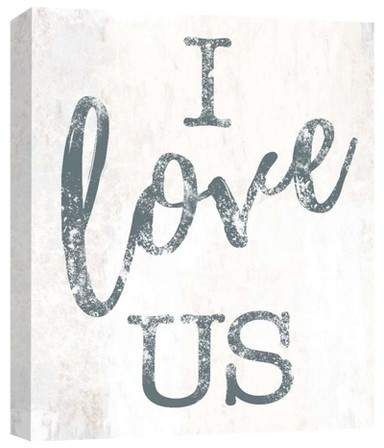 I Love Us Decorative Canvas Wall Art 11