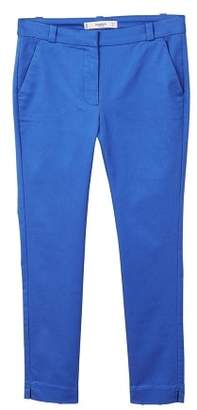 MANGO Crop slim-fit trousers