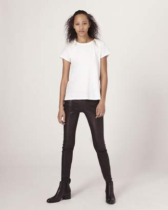 Rag & Bone Skinny leather pant