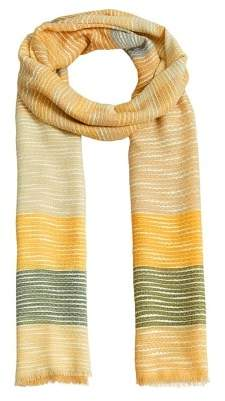 MANGO Texture printed foulard