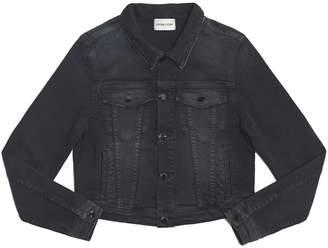 Cotton Citizen Women's Crop Denim Jacket - Washed Black