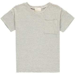 Sale - Graham Organic Cotton Striped T-Shirt - Boy + Girl