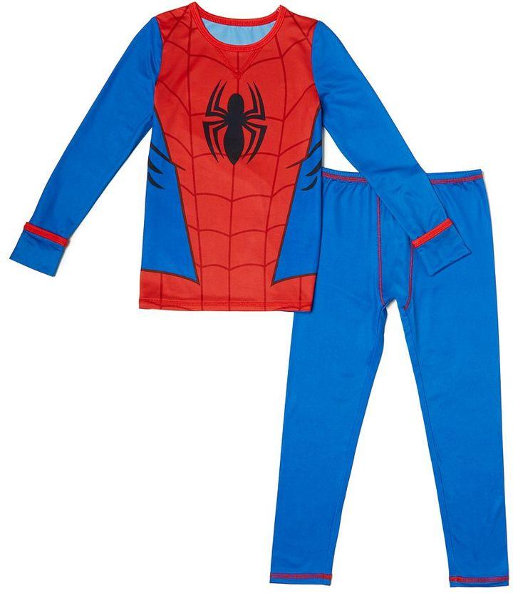 Toddler Boy Cuddl Duds Spider-Man Top & Leggings Set