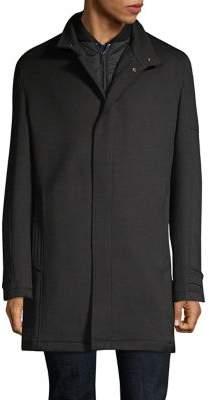 Strellson Bronx Wool-Blend Short Coat