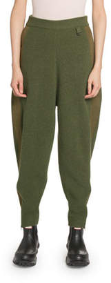 Stella McCartney Cotton-Wool Harem Pants