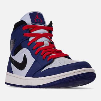 78473a13cdce Nike Men s Air Jordan Retro 1 Mid Premium Basketball Shoes