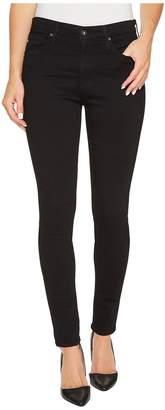 AG Adriano Goldschmied Farrah Skinny in Super Black Women's Jeans