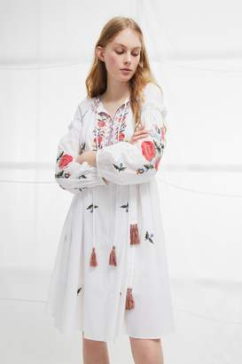 French Connection Edessa Cotton Folk Dress