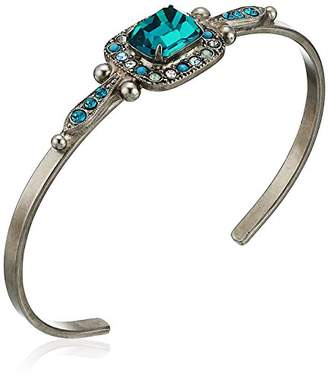 Sorrelli Happy Birthday Opulent Octagon Cuff Bracelet