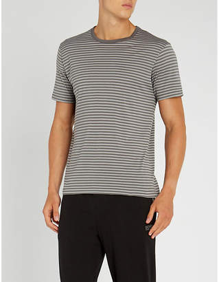 Sunspel Classic striped cotton-jersey T-shirt