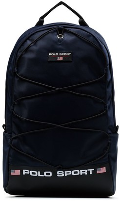 Polo Ralph Lauren logo print backpack