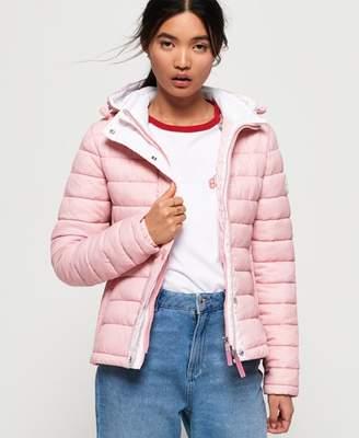b00e423b62 $109.50 SuperdryFuji Slim Double Zip Hooded Jacket