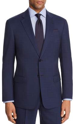 Giorgio Armani Large Check Regular Fit Suit