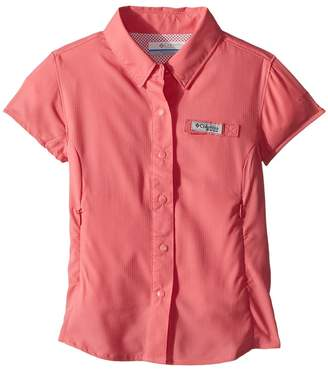 Columbia Kids Tamiami Short Sleeve Shirt Girl's Short Sleeve Button Up