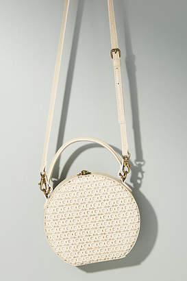 Anthropologie Serena Woven Circle Bag