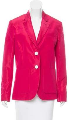 Rochas Notched-Lapel Structured Blazer w/ Tags