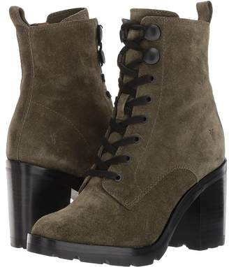 Frye Myra Lug Combat Women's Lace-up Boots