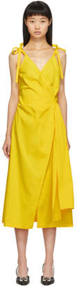Off-White Off White Yellow Sunshine Dress