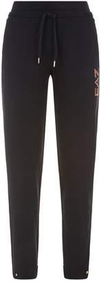 Giorgio Armani Ea7 Glitter Print Sweatpants